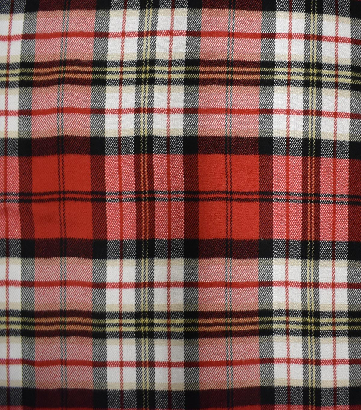 Perfectly Plaid Acrylic Fabric 55\u0022-Red Multi Colored Check