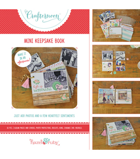 Hazel & Ruby Crafternoon Mini Keepsake Book