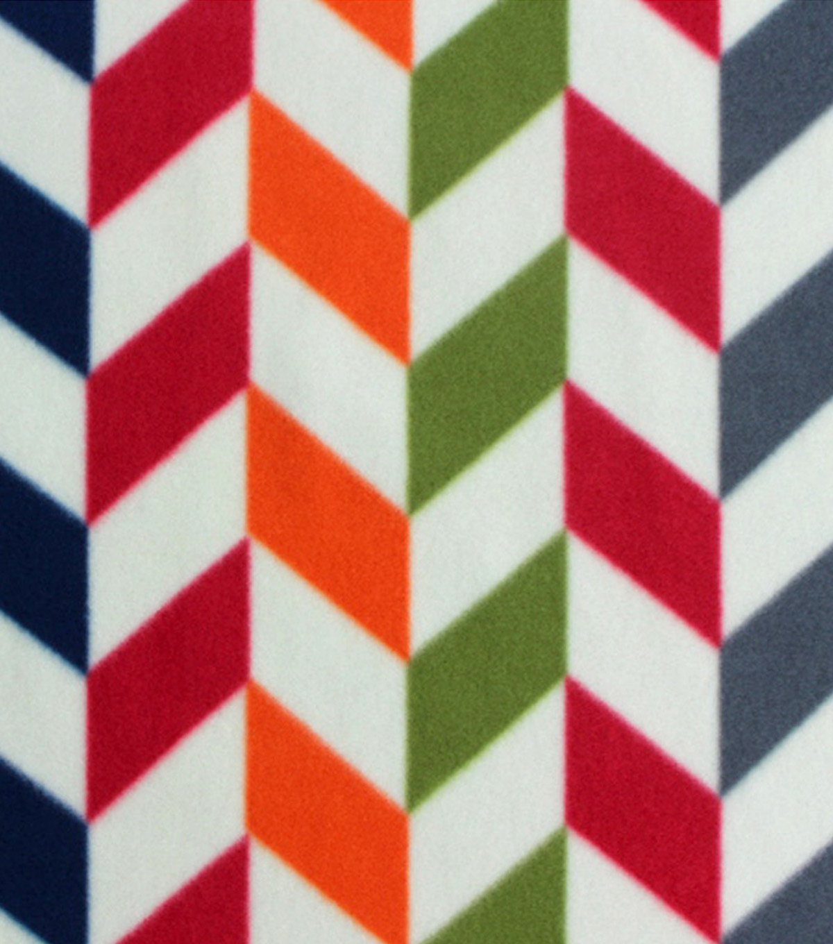 Blizzard Fleece Fabric 59\u0022-Broken Chevron