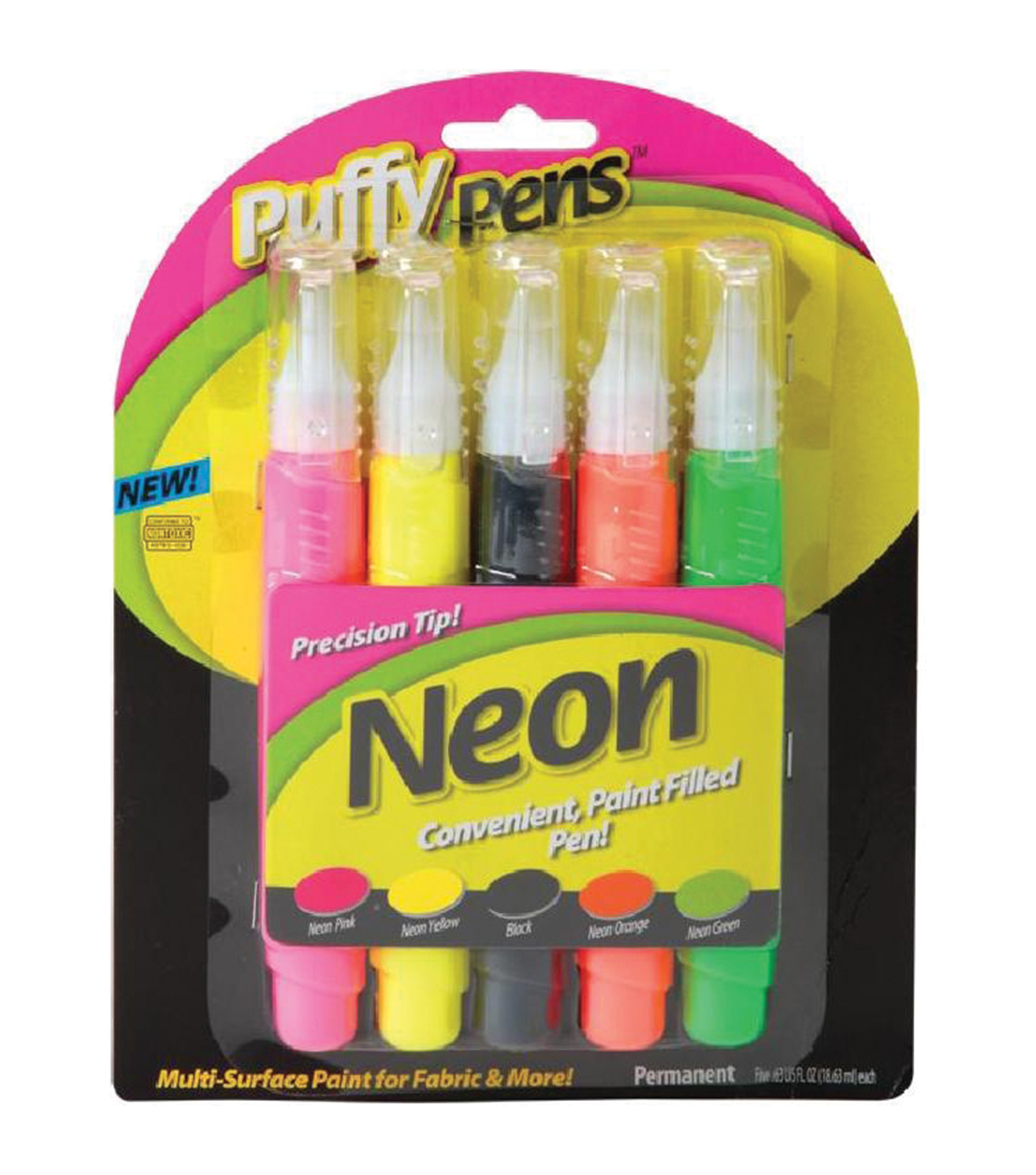 I Love To Create Puffy Paint Pen Set