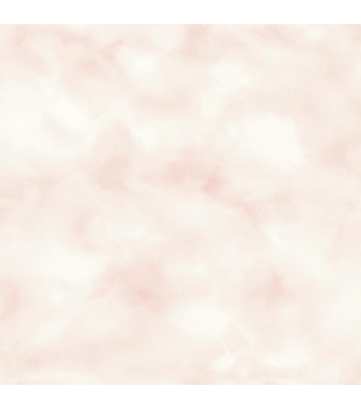 York Wallcoverings Wallpaper-Pink Cloud