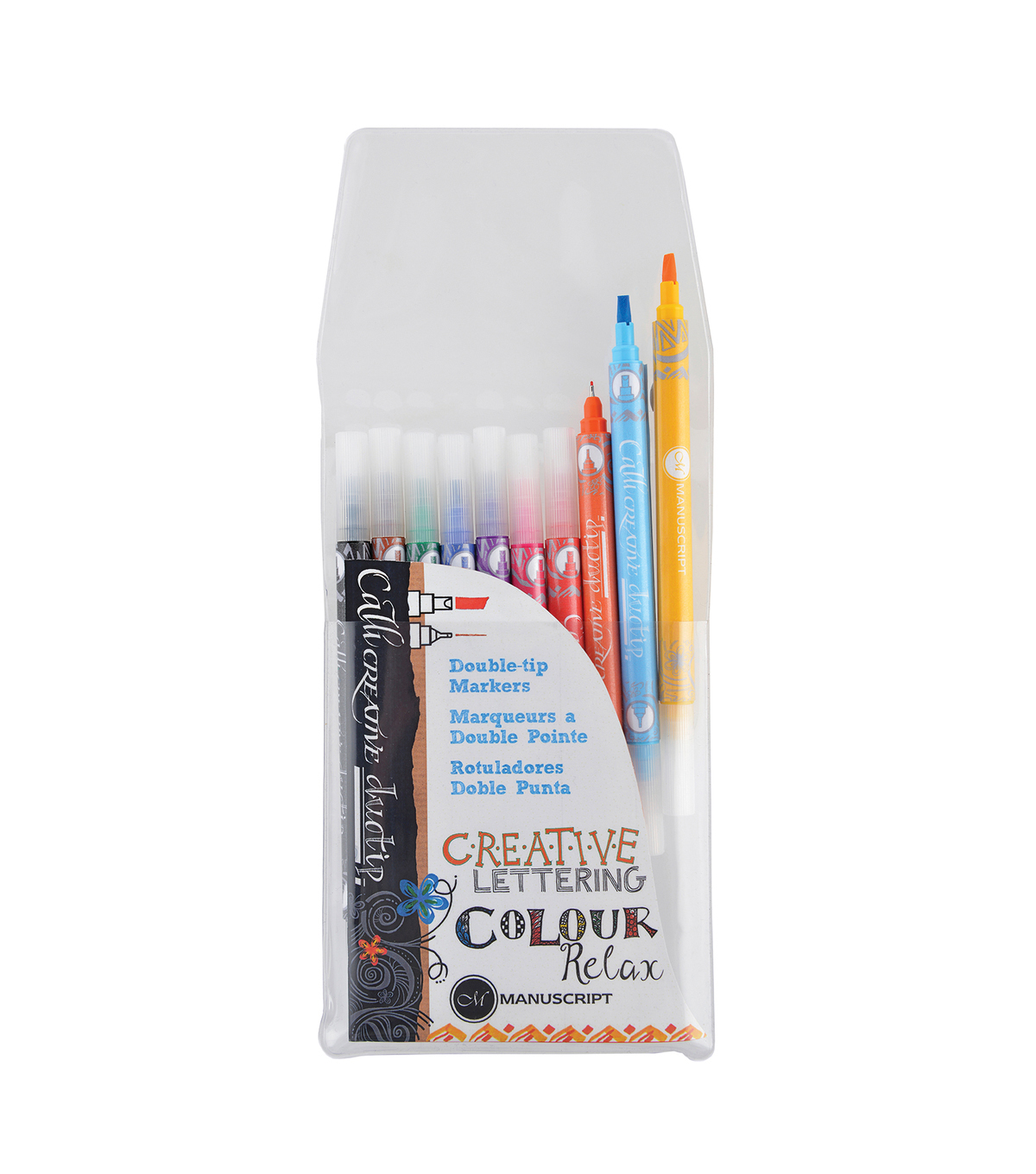 Callicreative Duotip Marker Set 10/Pkg