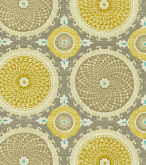 Waverly Multi-Purpose Decor Fabric 55\u0022-Bohemian Swirl Pumice