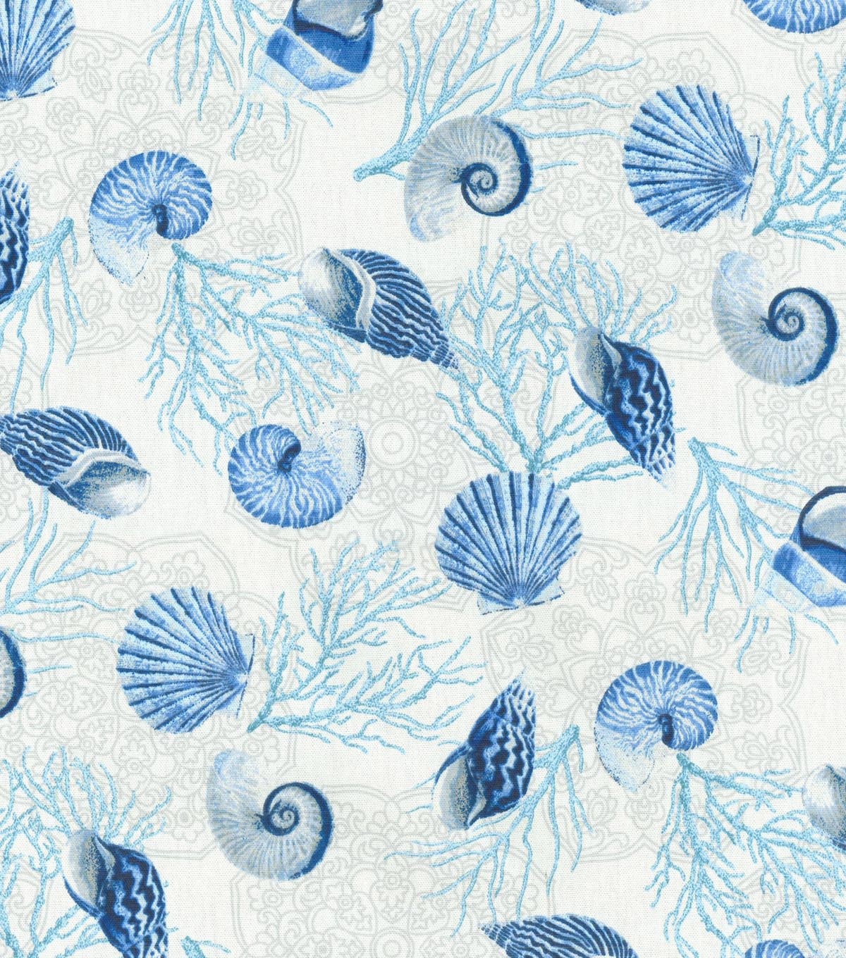 Waverly Upholstery Fabric-Shell We Dance/Surf