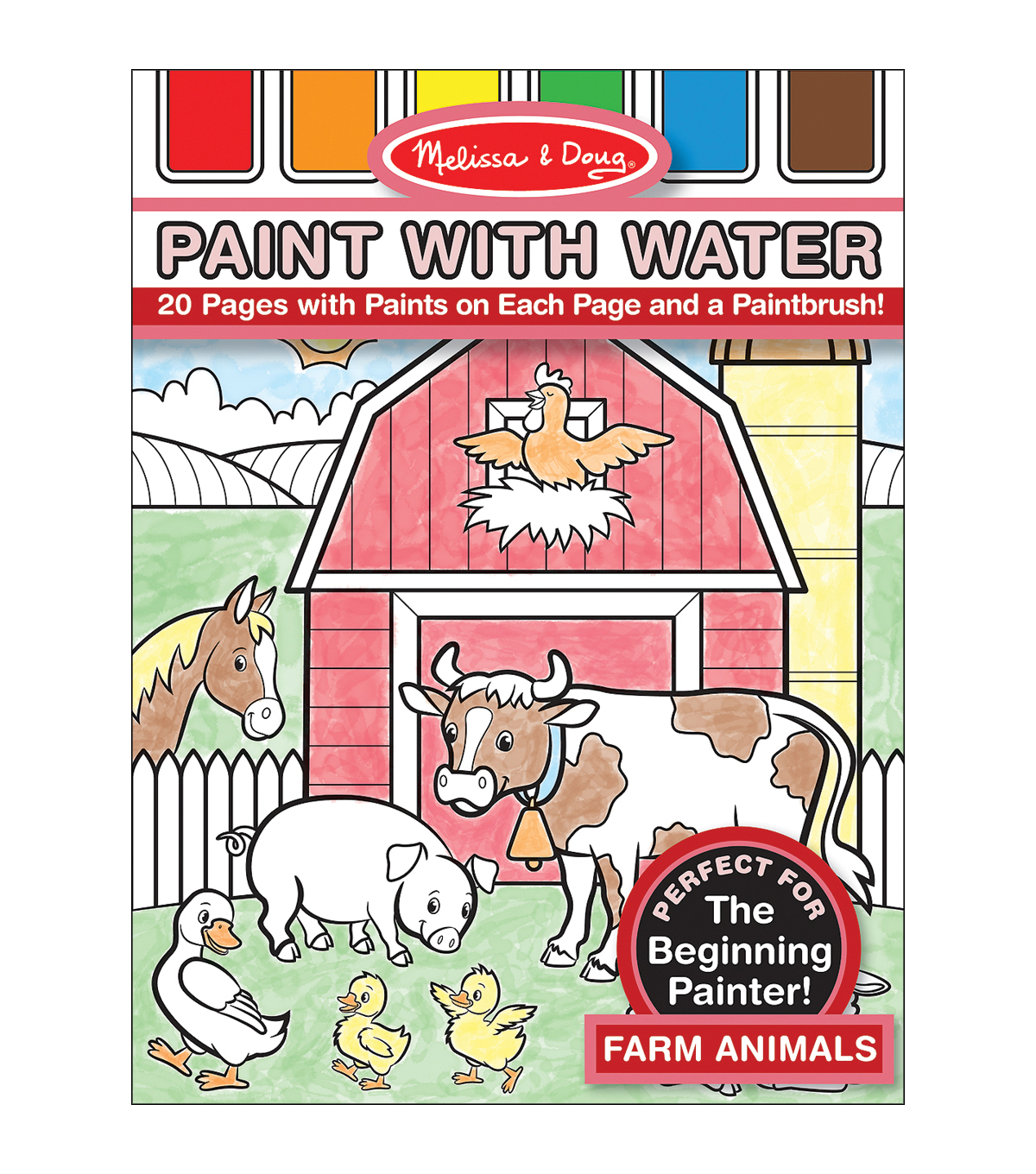 Farm Anmls-paint With Water