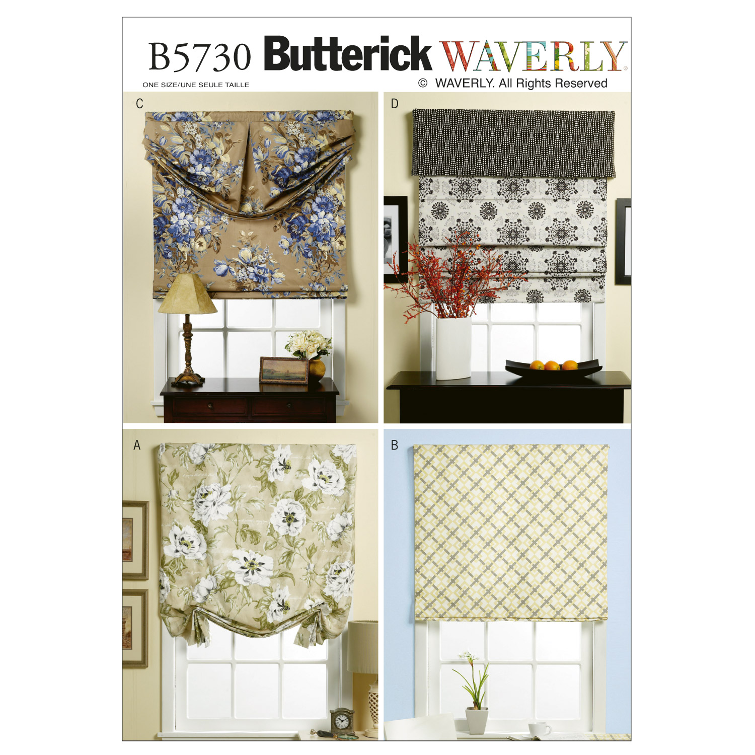 Butterick Home Design Home Designs-B5730