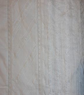 Speciality Cotton Fabric -White Lace Eyelet