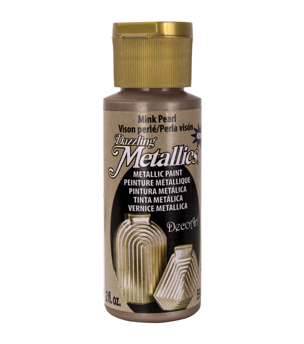 DecoArt Dazzling Metallics 2 fl. oz. Metallic Paint