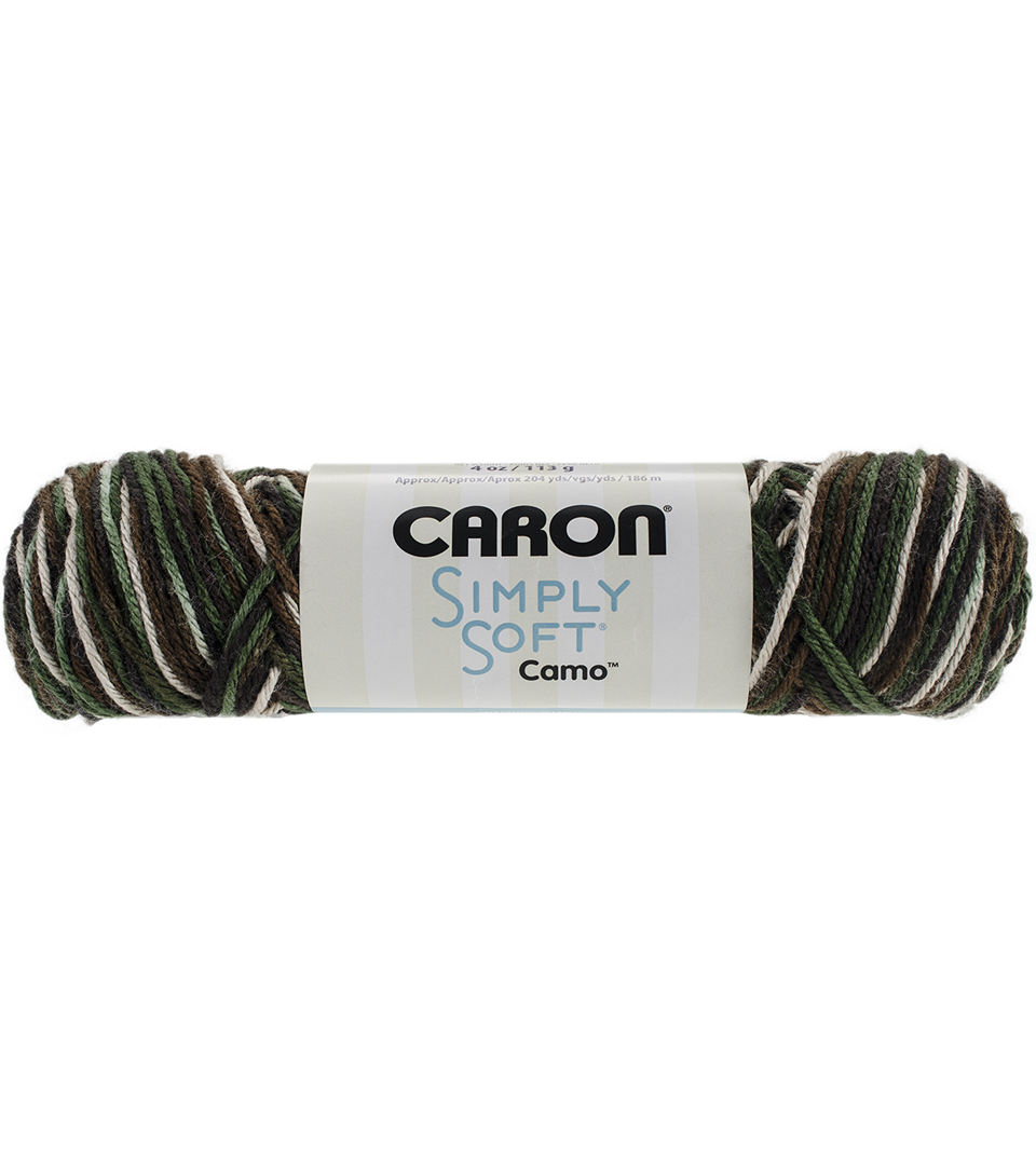 Caron Simply Soft Camo Yarn | JOANN