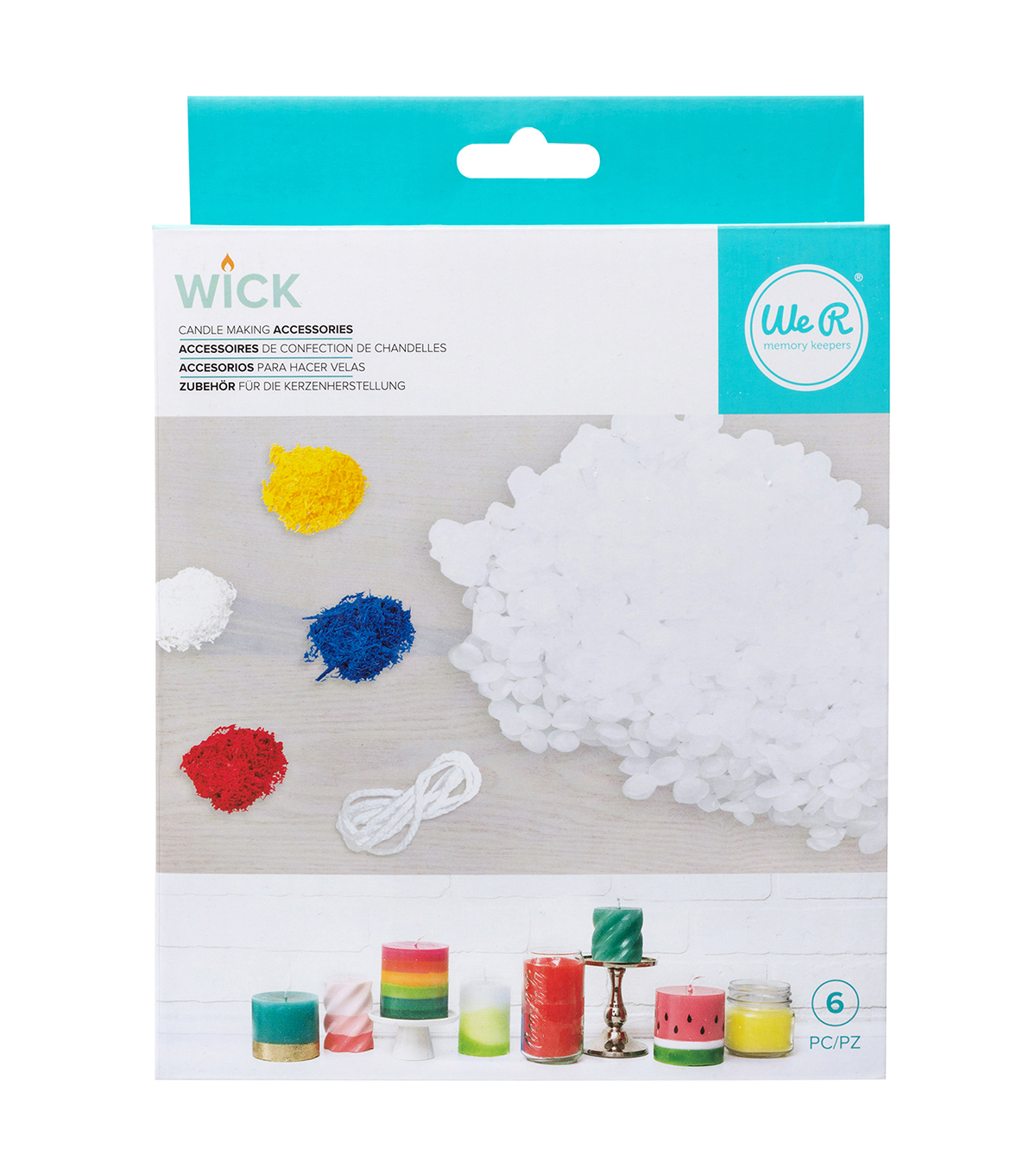 We R Memory Keeper Wick Candle Wax & Wick Bundle Kit