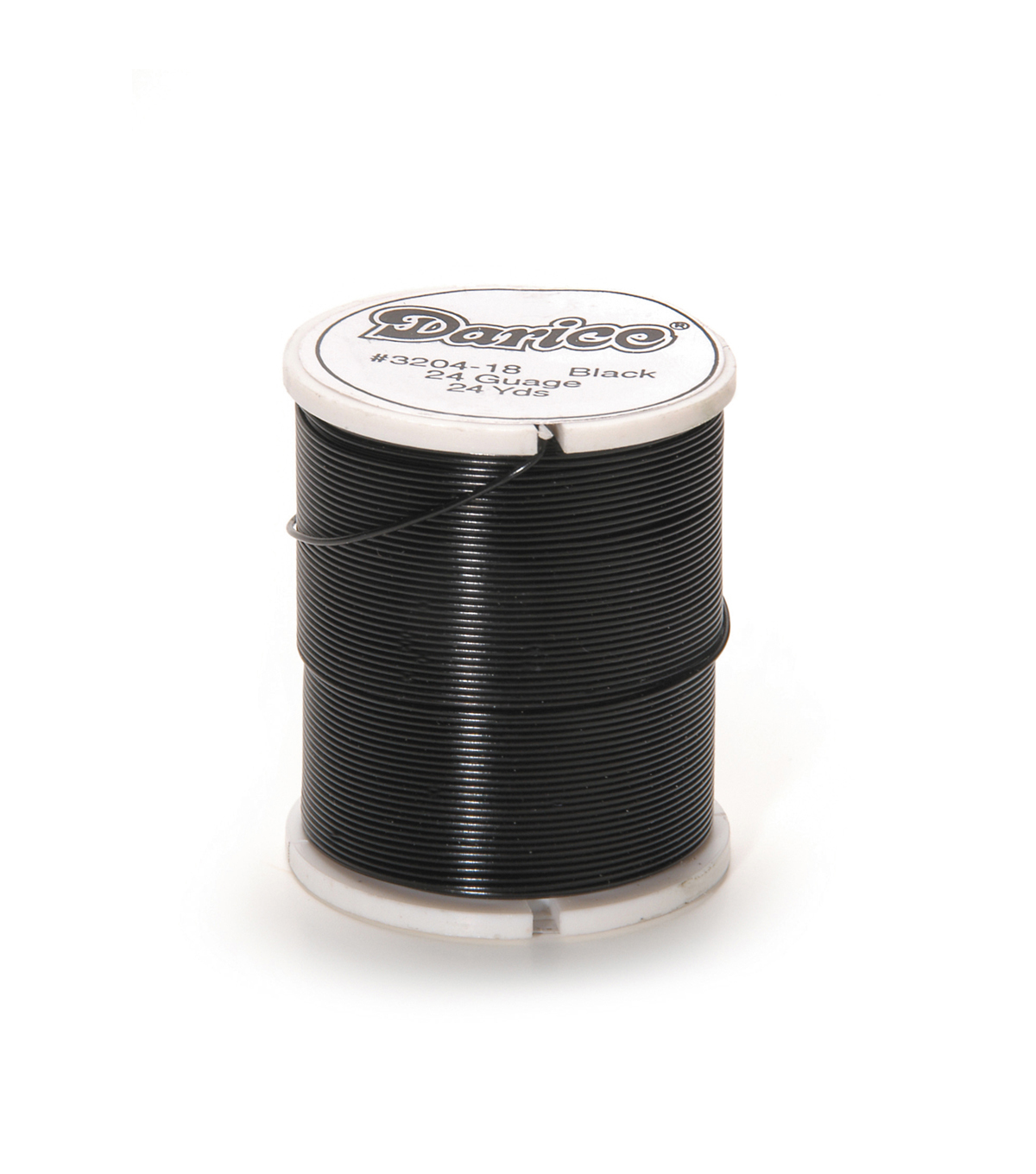 26 Gauge Craft Wire, Black, 24 yards