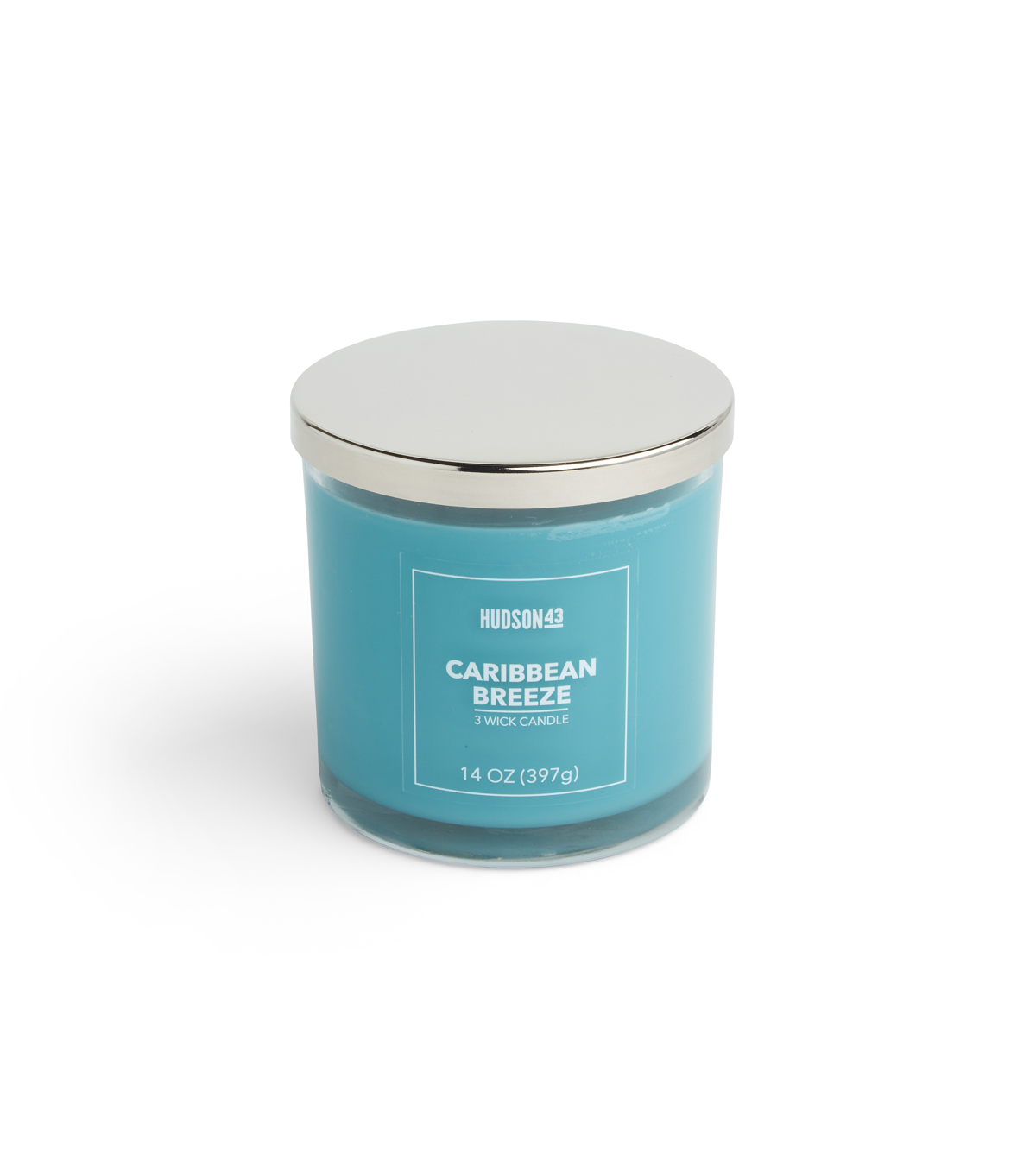 Hudson 43 Candle & Light 14 oz. Caribbean Breeze Scented Jar Candle