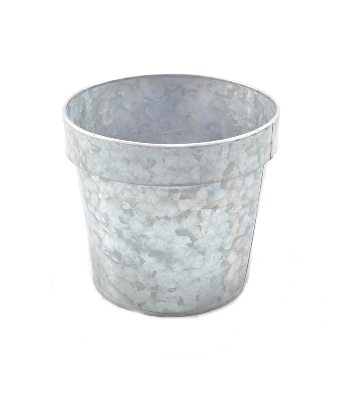 Fall For All Metal Pots With Lip Medium