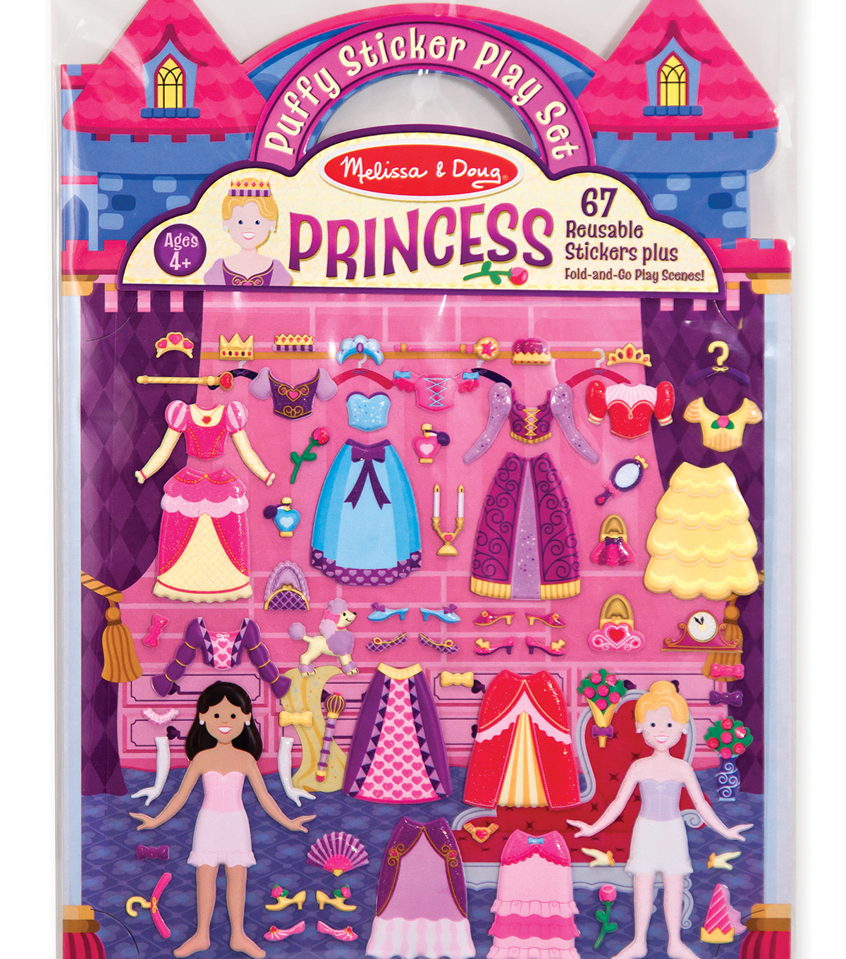 Puffy Sticker Play Set Princess