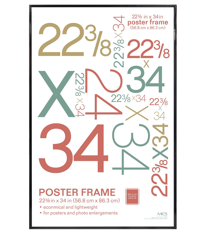 Poster Frame 22 3/8 X 34-Black | JOANN