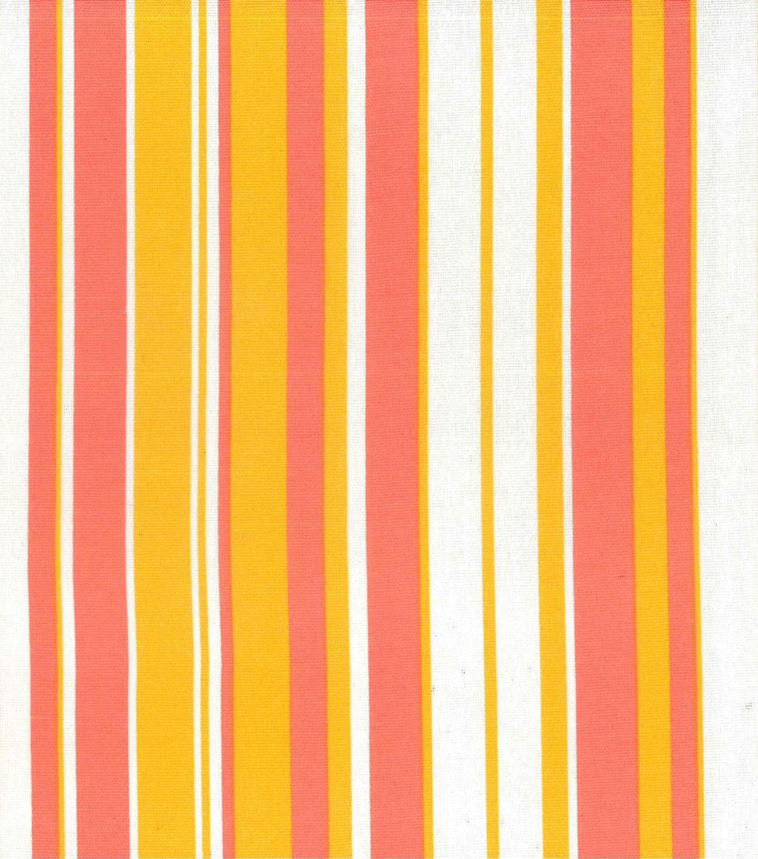 Home Essentials Lightweight Decor Fabric 45 U0022 Stripe Pink Orange