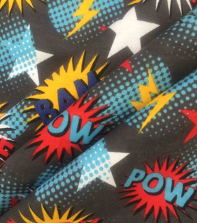 Doodles Juvenile Apparel Cotton Fabric 57\u0022-Multi Dog Pow