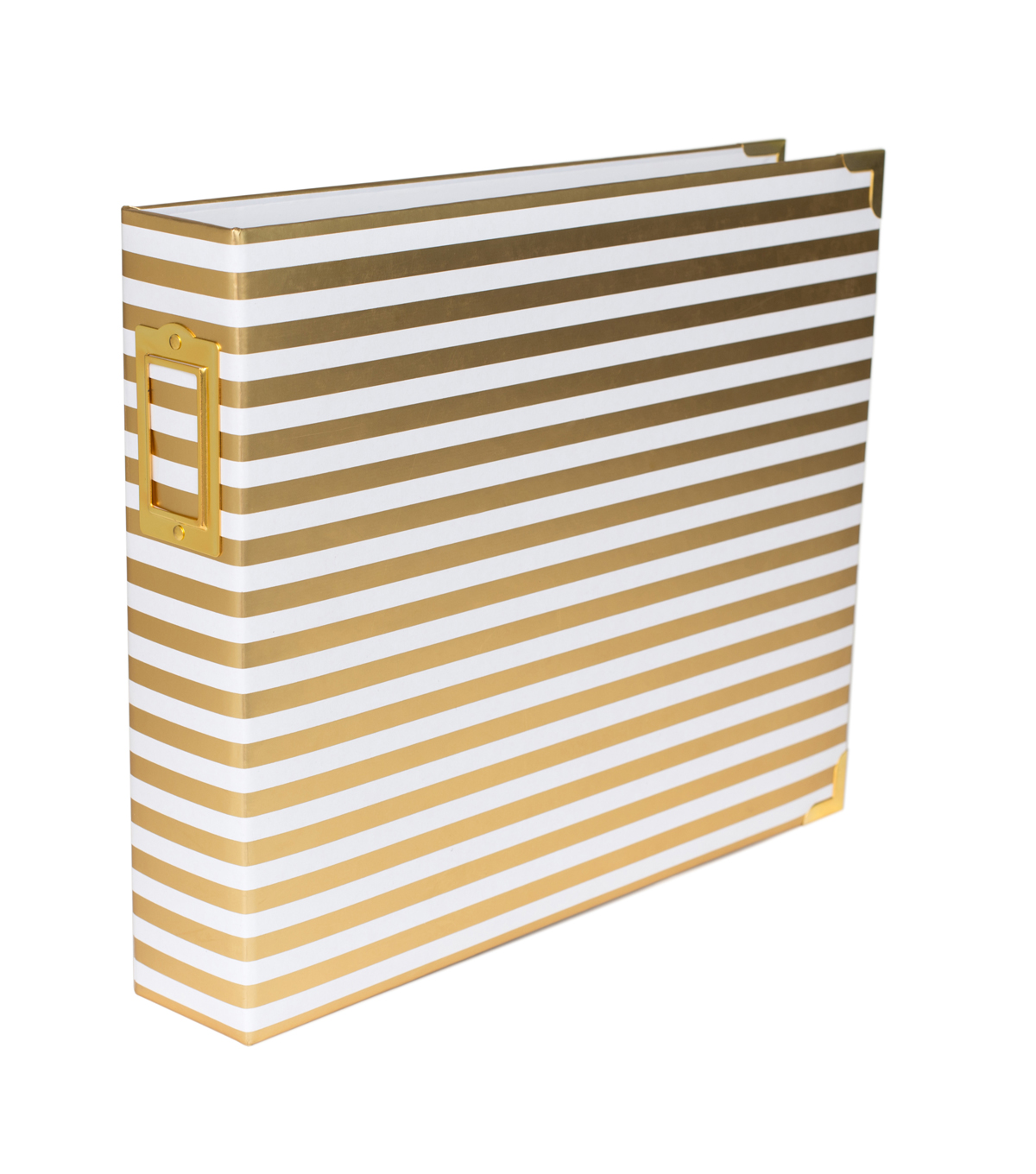 Project Life Gold Stripes Project Life Glossy D-Ring Album