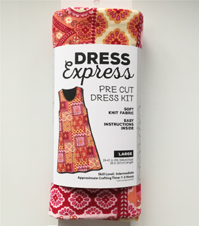 Dress Express Pre-Cut Dress Kit-Boho Floral
