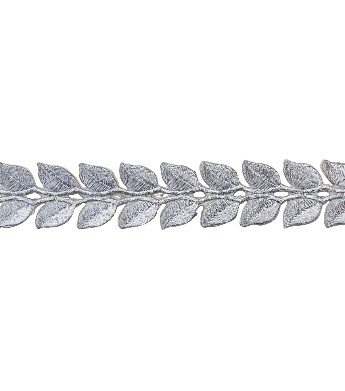 Yaya Han Collection Silver Roman Leaf Trim