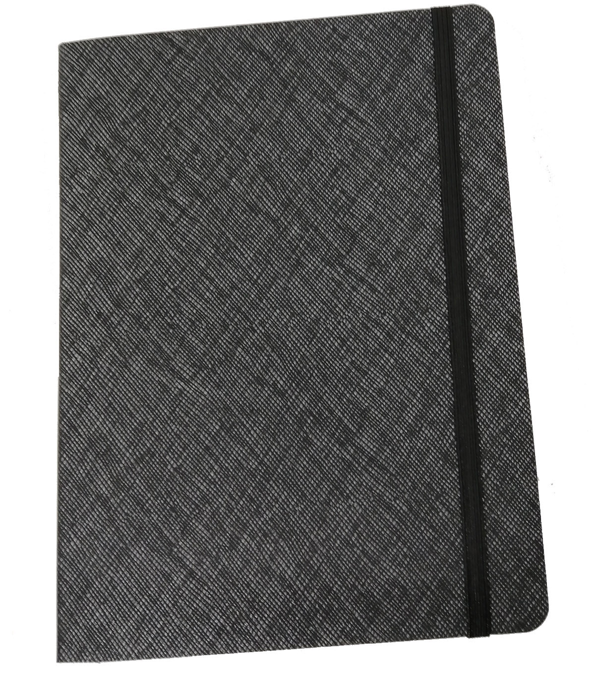Park Lane Textured Softcover Journal-Black