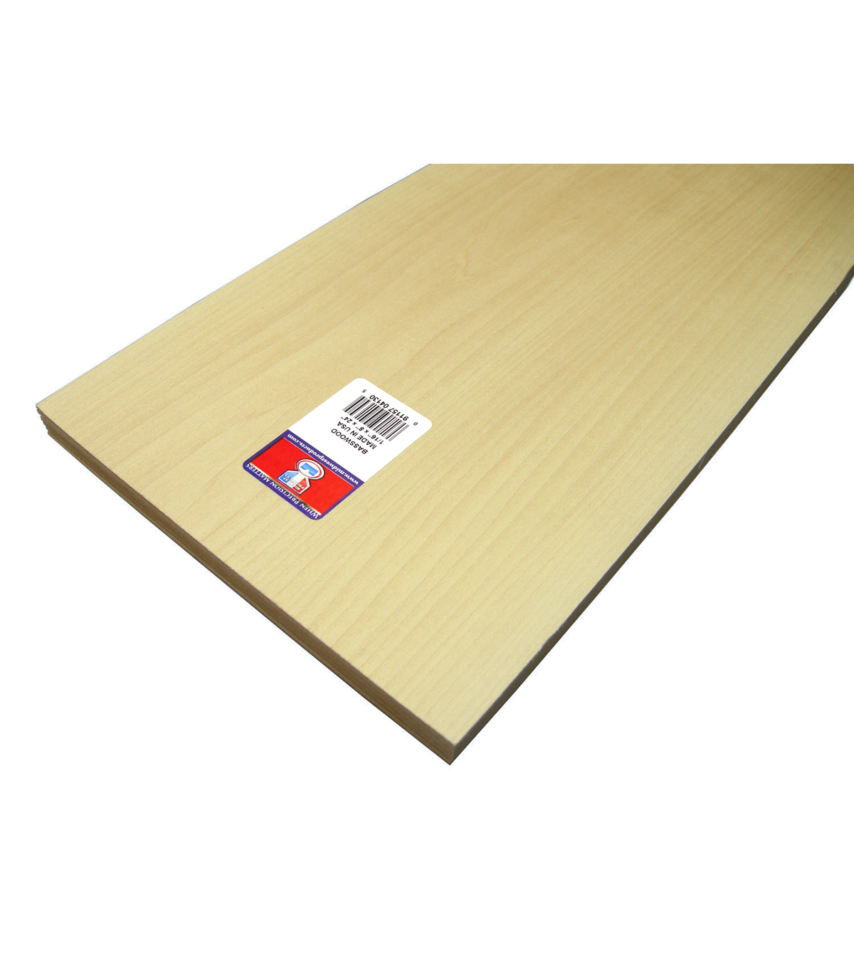 Midwest Products 0.06\u0027\u0027 Basswood Sheets
