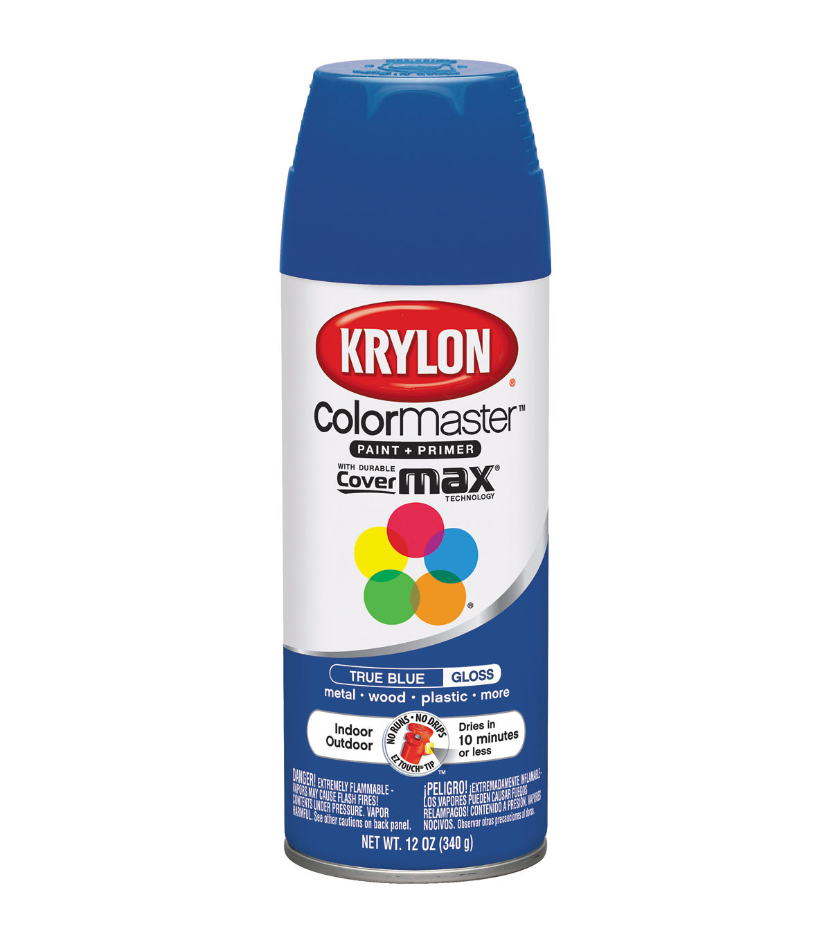 Krylon ColorMaster 12 oz. Interior/Exterior Paint Plus Primer