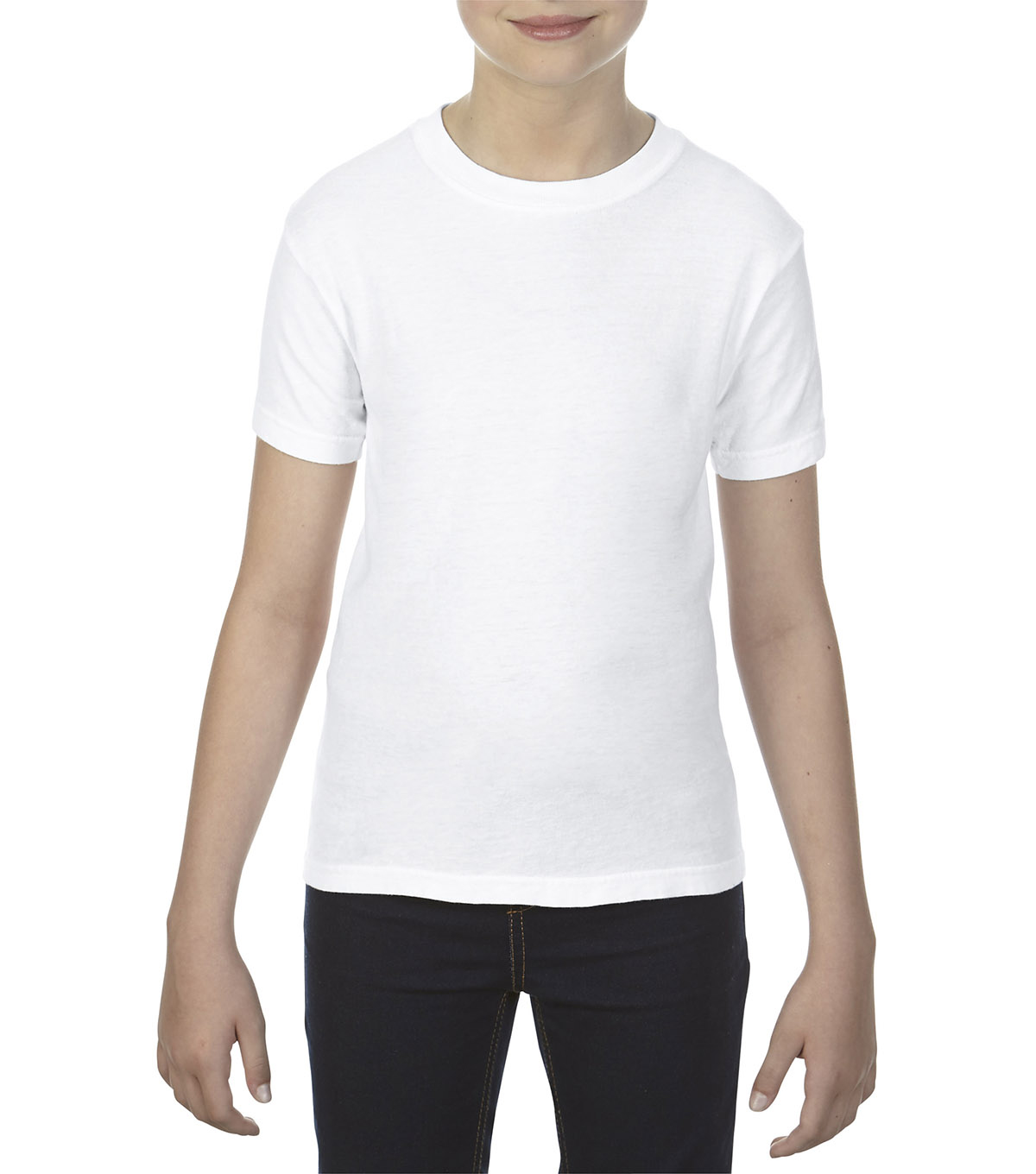 Gildan Comfort Colors 9018 Small Youth T-Shirt, White