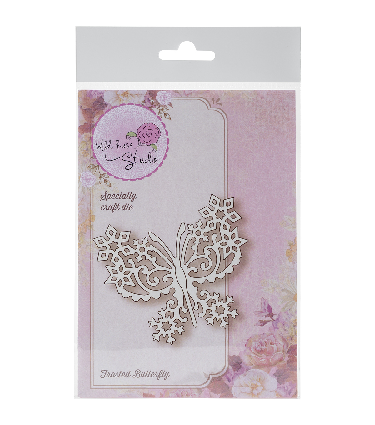 Wild Rose Studio Specialty Die-Frosted Butterfly