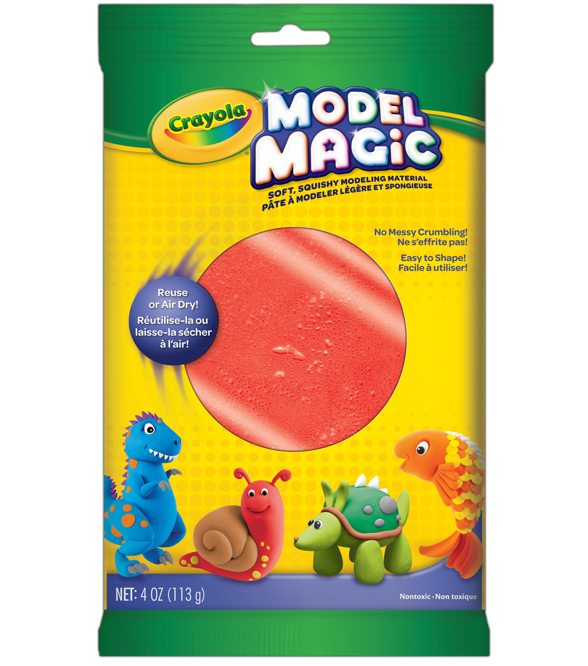 Crayola Model Magic Modeling Clay, Red