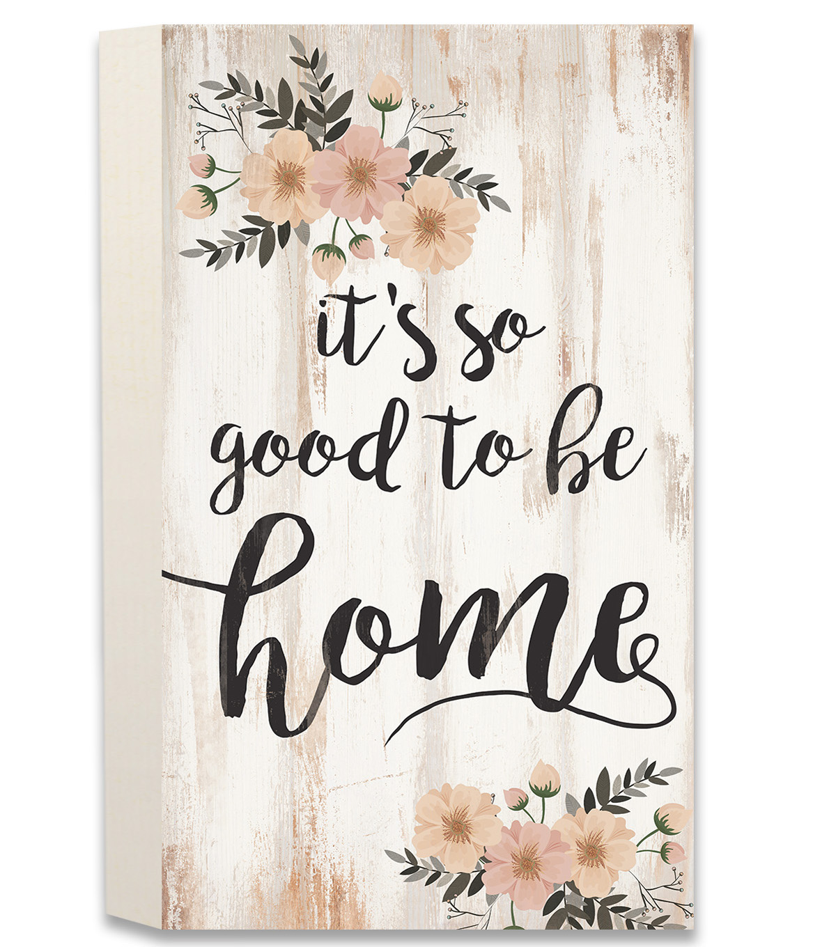 Hello spring pallet wall decor it 39 s so good to be home joann for Good home decor sites