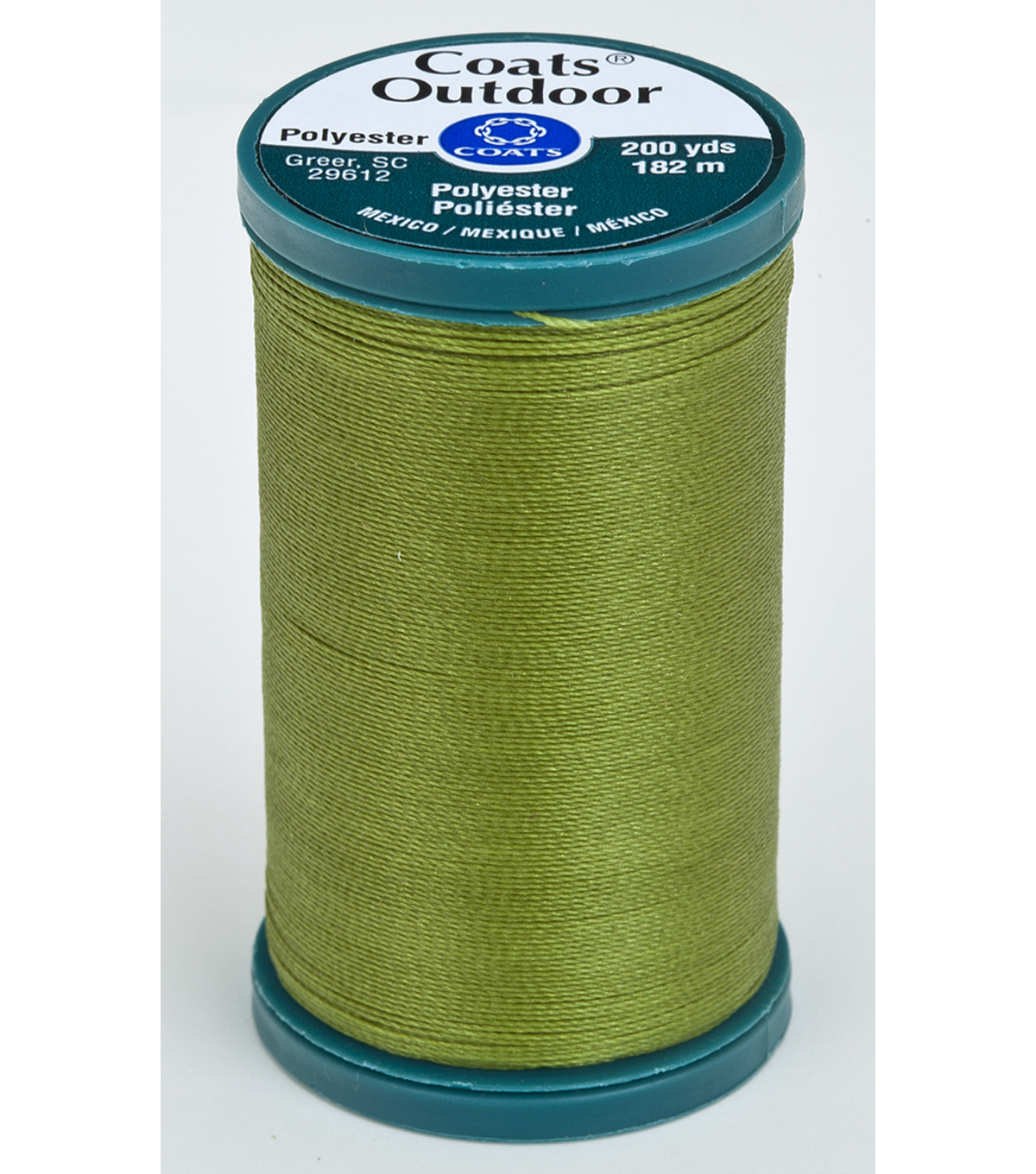 Coats & Clark Outdoor 200yd Thread, Coats Outdoor 200yd Chartreuse