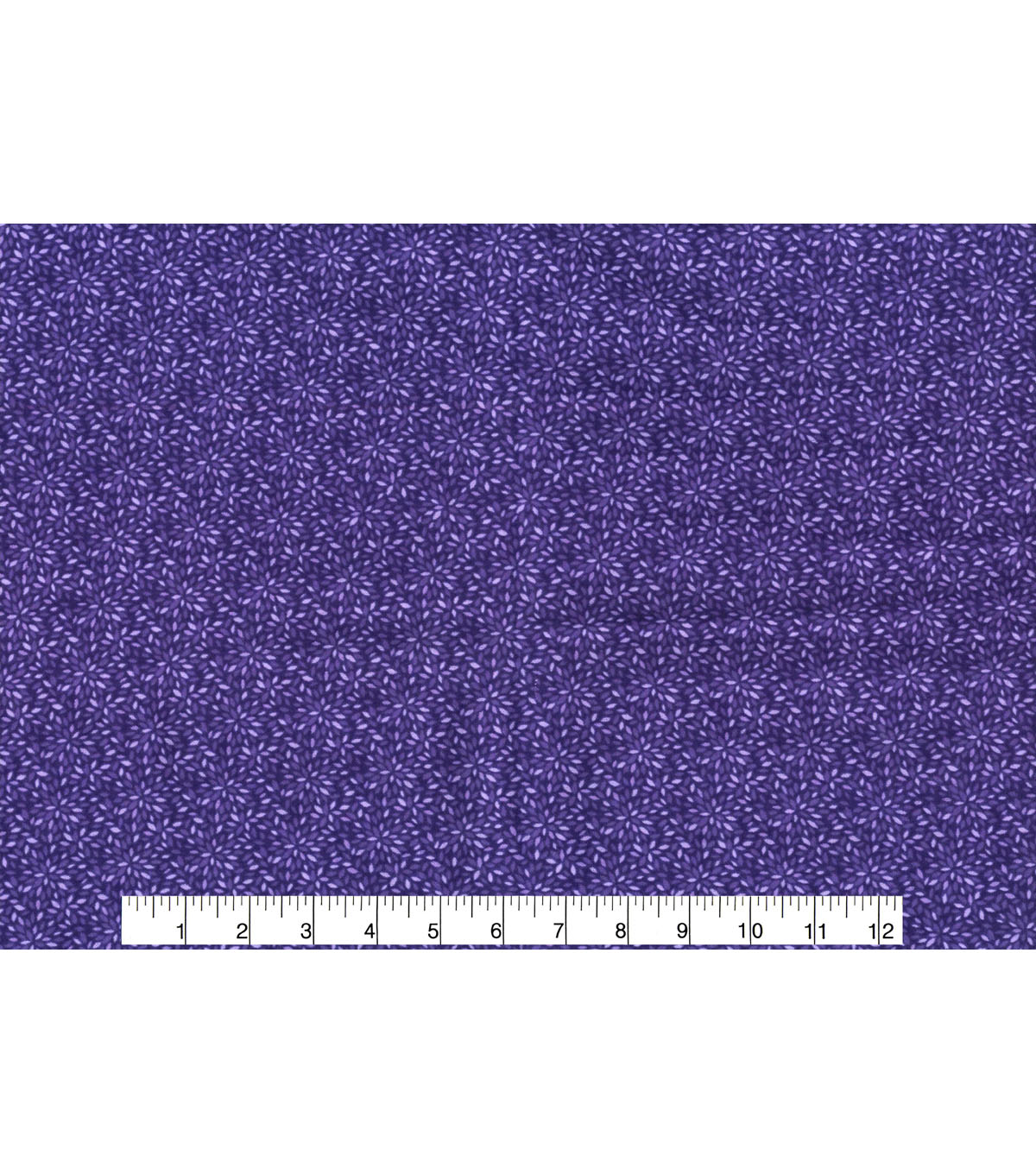 Quilter\u0027s Flannel Fabric -Mum Burst Purple