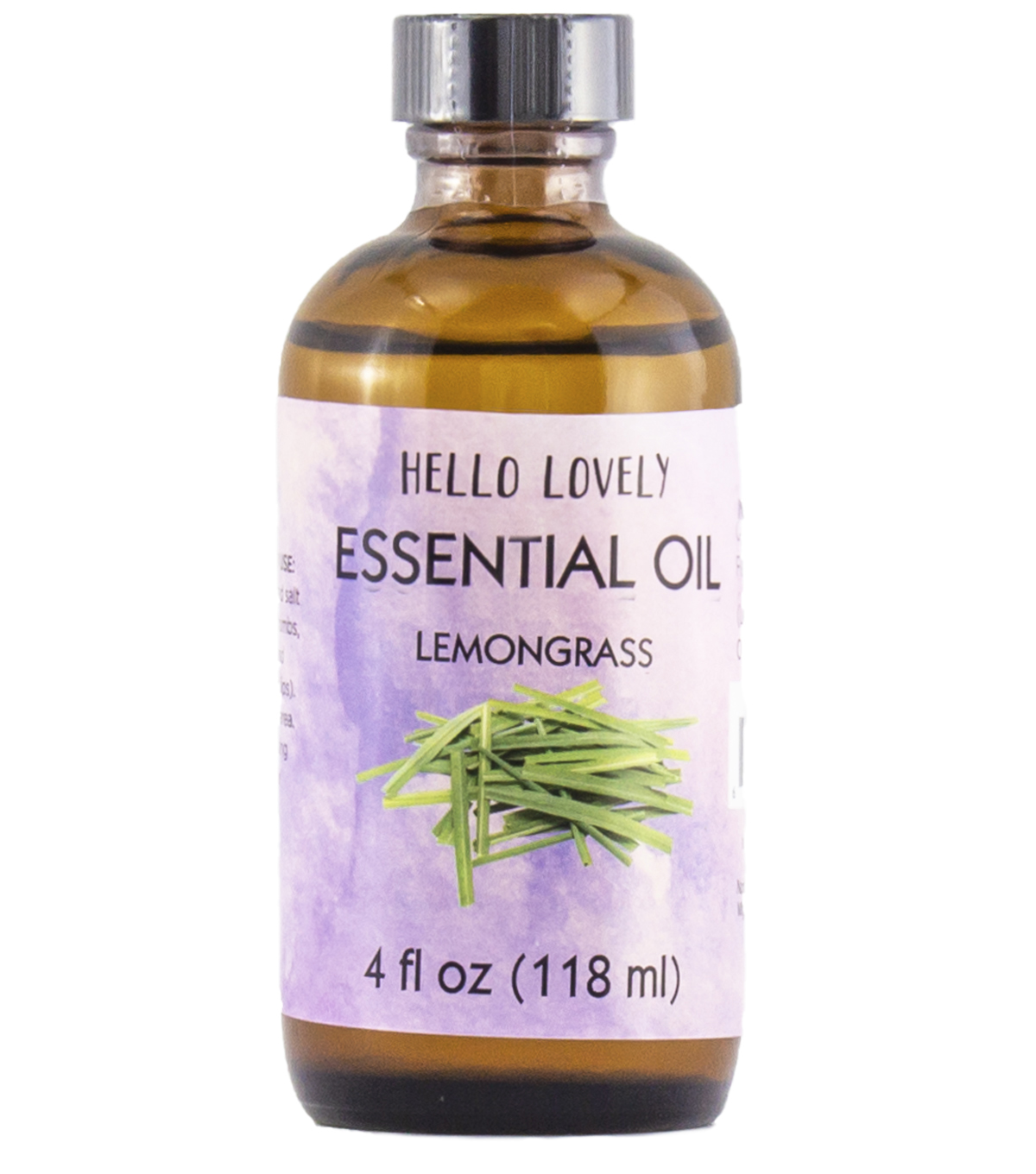 Hello Lovely Soap Fragrance 4oz-Lemongrass