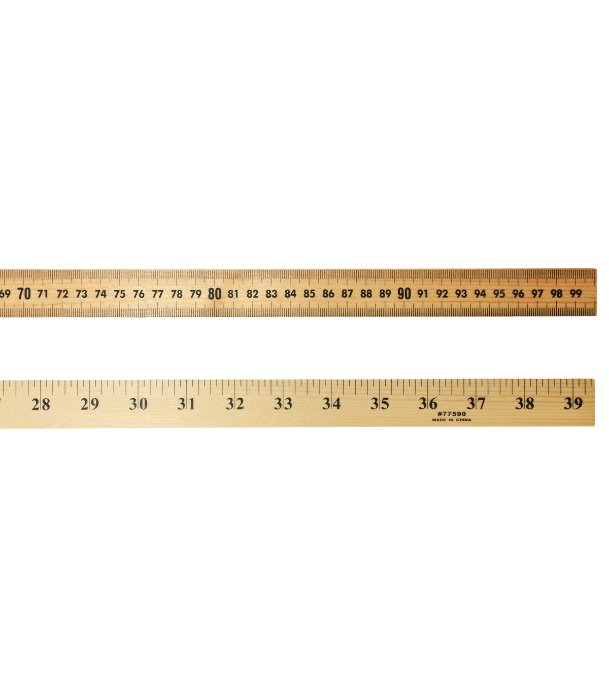 graphic about Printable Meter Sticks called Charles Leonard Meter Adhere with Storage Gap, Pack of 6