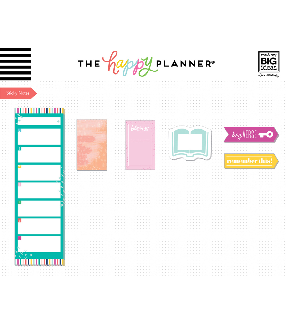 The Happy Planner Girls Accessory Book-Faith Warrior