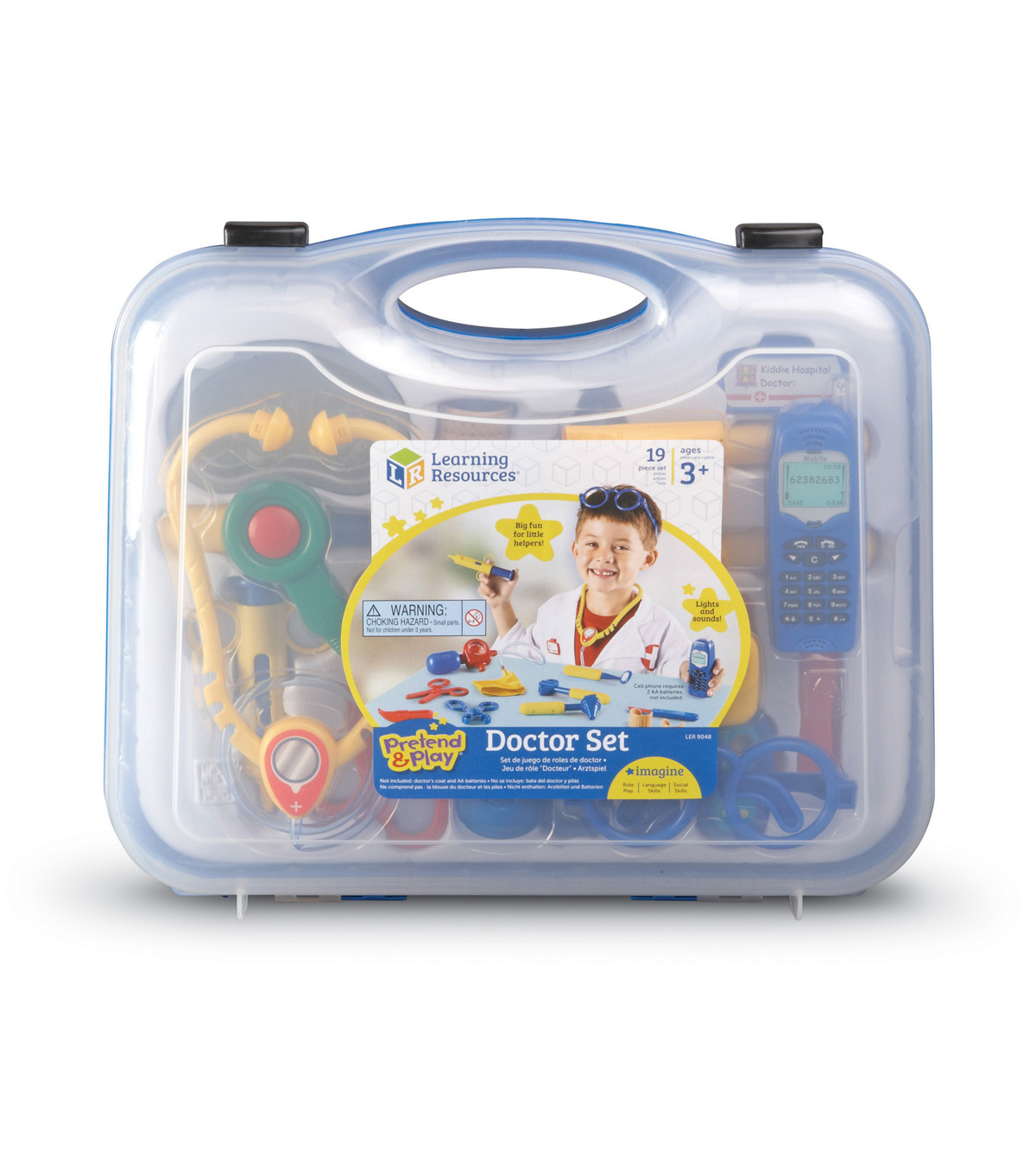 Pretend & Play Doctor Set, 19 pcs