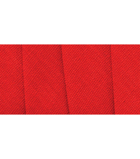 Wrights Extra Wide Double Fold Bias Tape, Scarlet