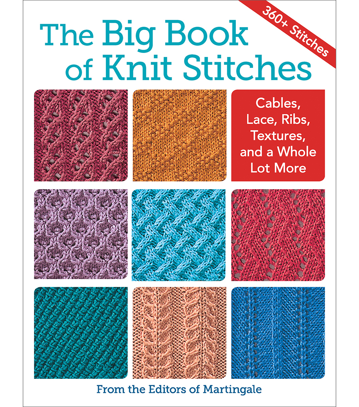 Martingale The Big Book of Knit Stitches Book