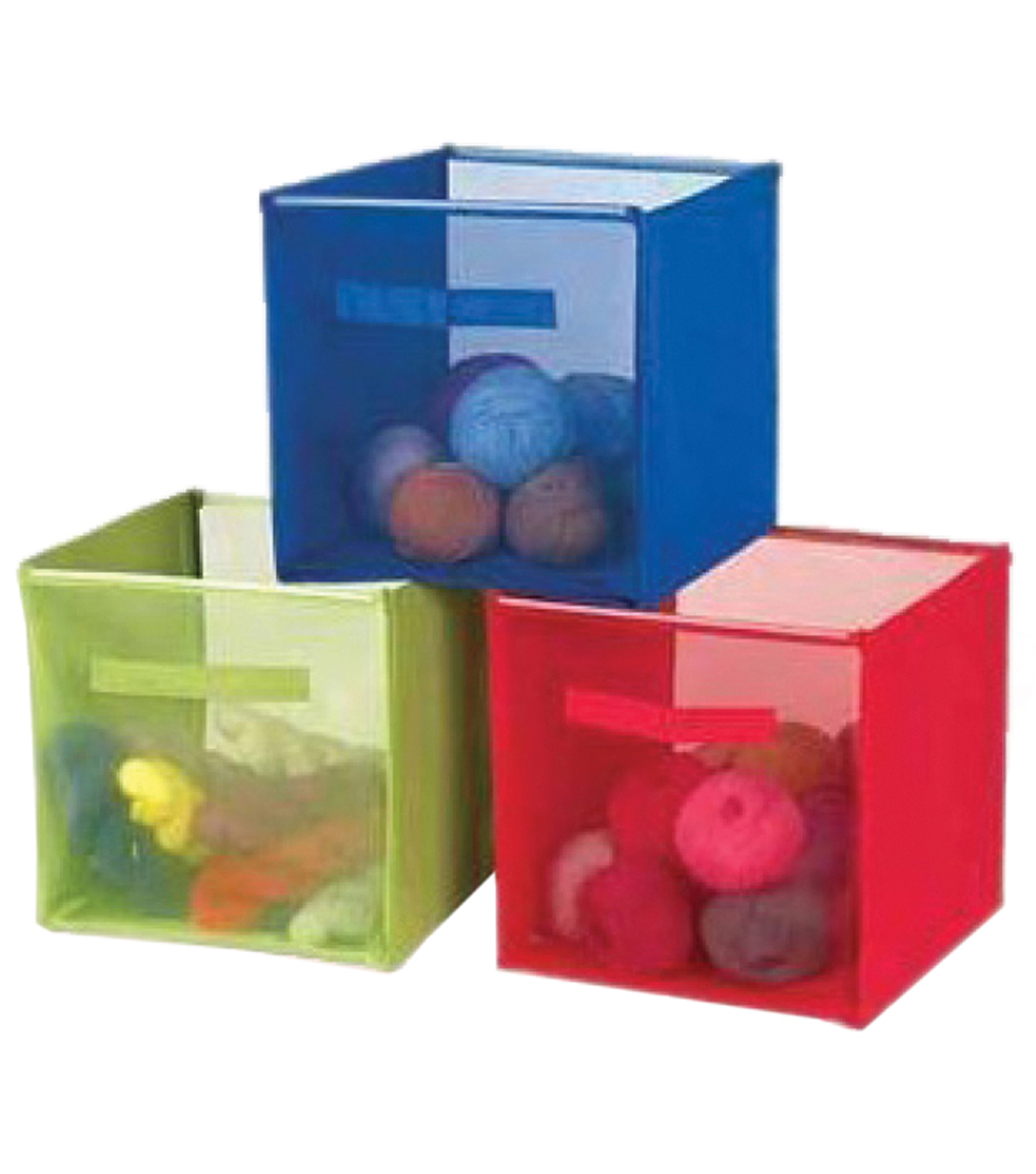 Yarn&Craft Storage Cube 12\u0022X12\u0022X12\u0022-Green