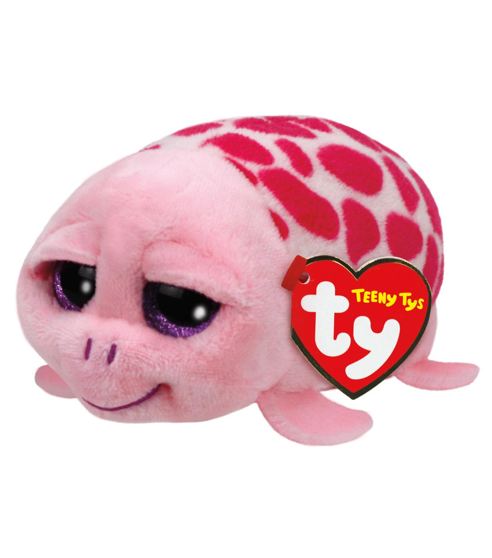05bba23466e Ty Teeny Tys 4 u0027 u0027 Shuffler Turtle-Pink