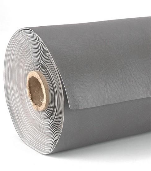 Attractive Arctic Vinyl Fabric Solids, Grey