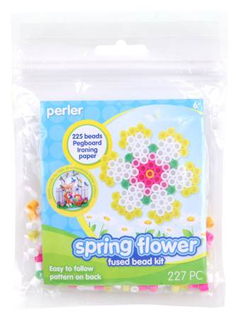 Perler Beads Clamshell Flower Activity Kit