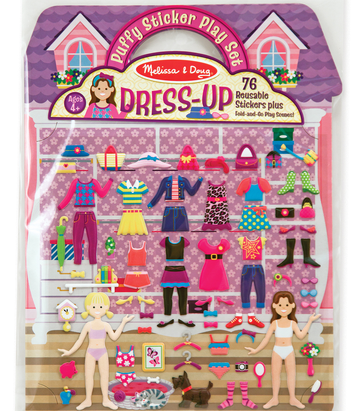 Puffy Sticker Play Set Dress-up