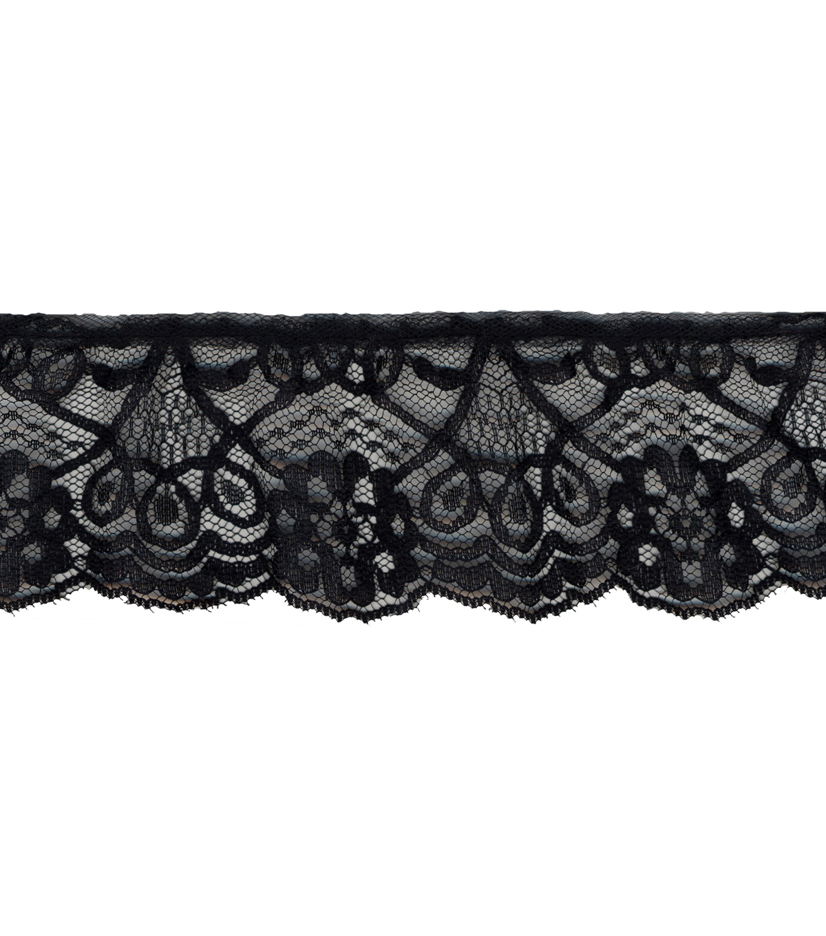 Simplicity Trims-2 1/2\u0022 Ruffled Lace