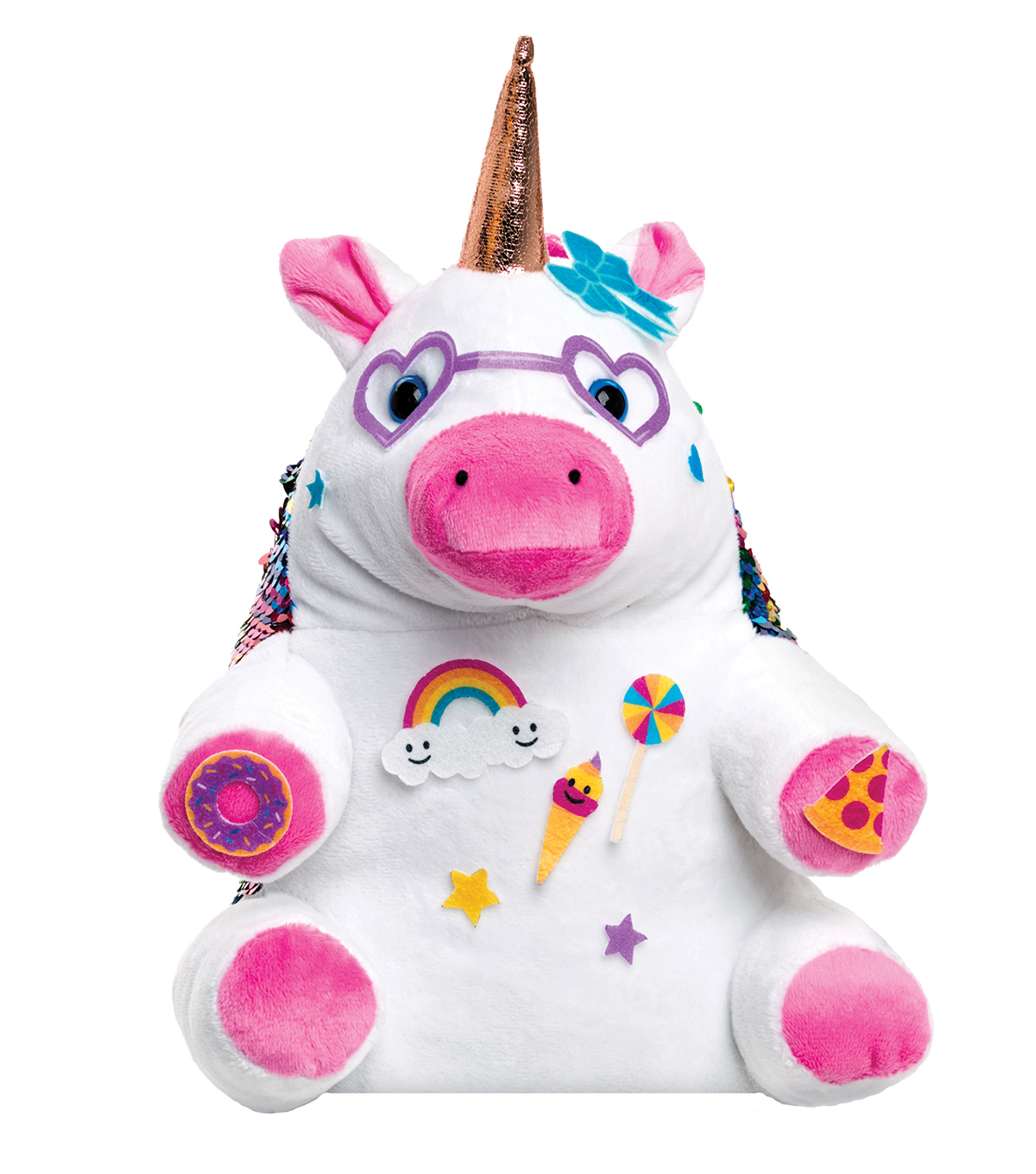 Sparkles The Unicorn Sequin Pet