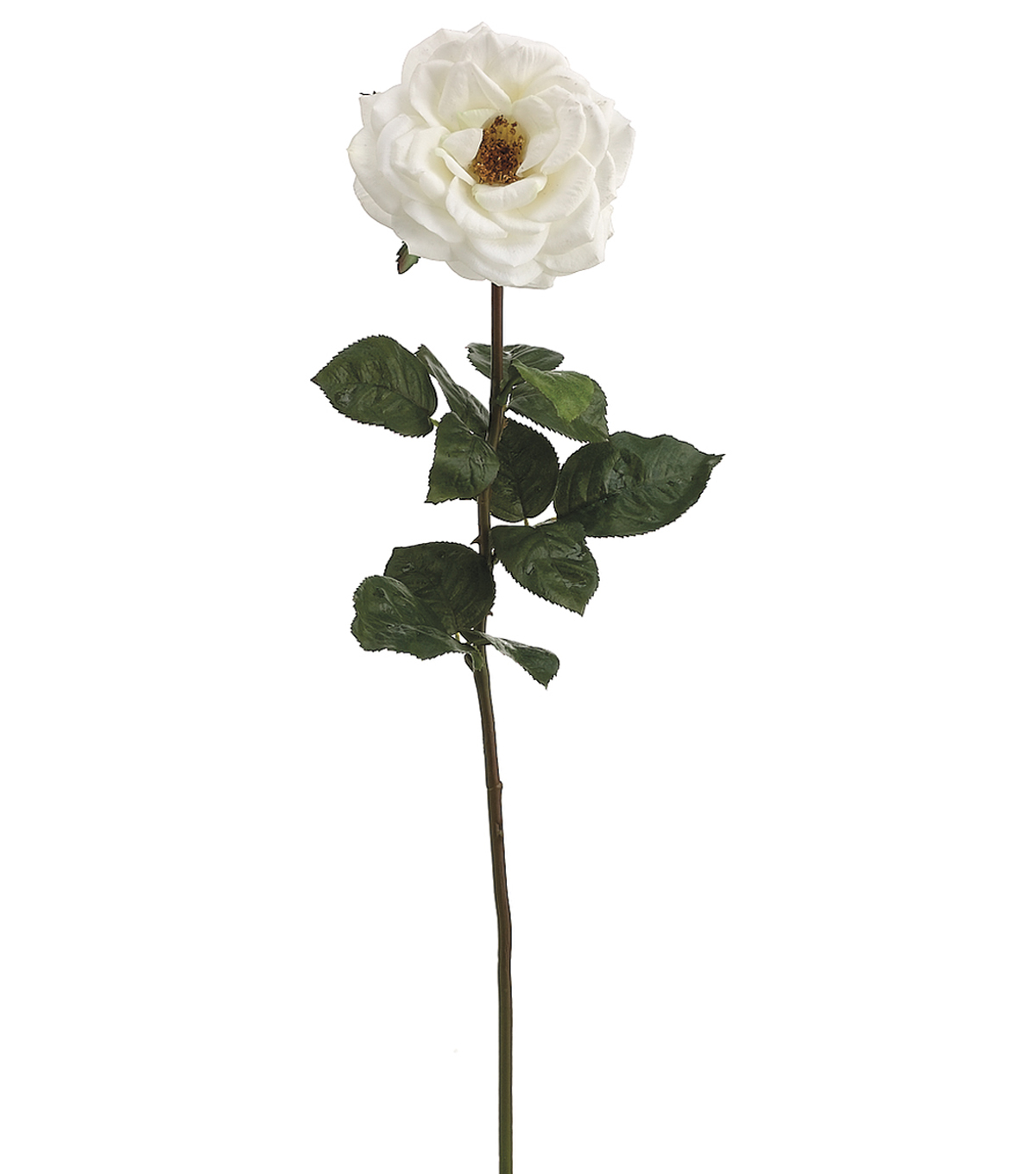 Bloom Room 27\u0027\u0027 Real Touch Orlane Rose Stem-White