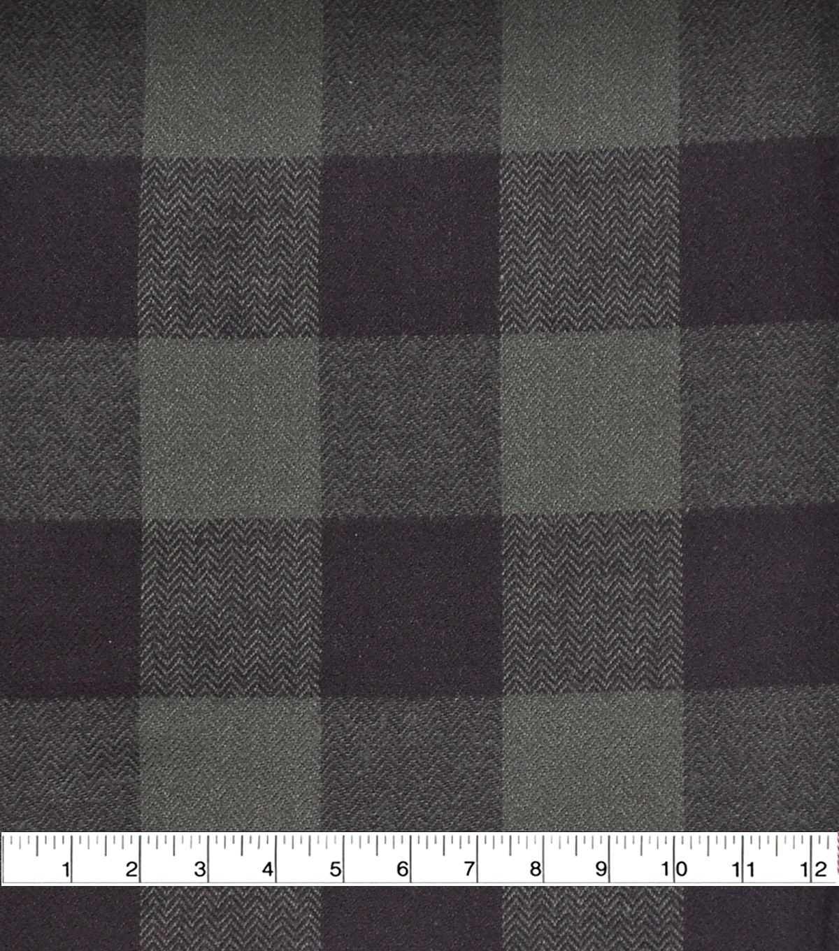 Shirting Cotton Fabric 44\u0027\u0027-Green & Black Buffalo Check