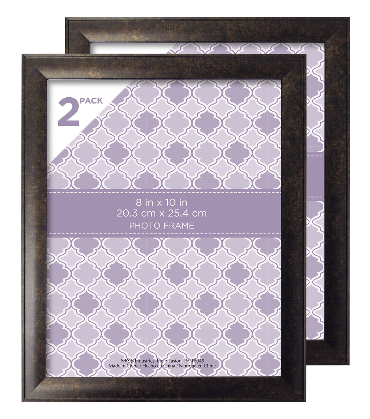 Tabletop Frame 2 Pack 8X10-Oil Rubbed Bronze
