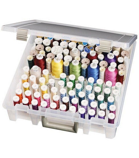 ArtBin Super Satchel Box wit Removable Thread Trays